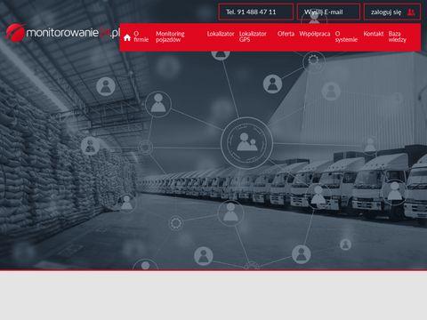 Monitoring pojazdów - monitorowanie24.pl