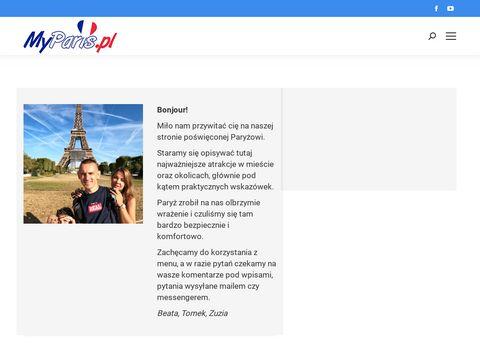 MyParis.pl - Paryż