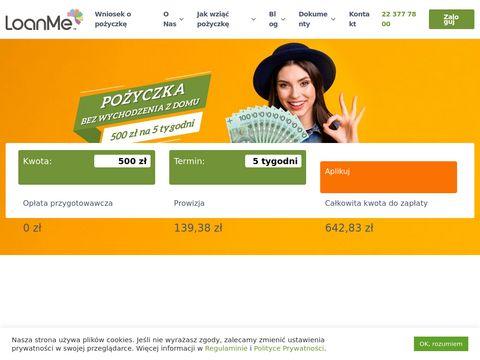 Pożyczki szybkie - loanme.pl