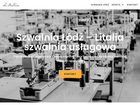 Litalia.pl - szycie usługowe odzieży