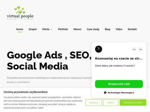 Virtualpeople.pl nowoczesne strony www