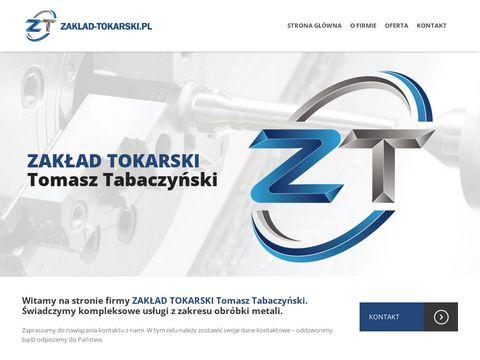 Zakład tokarski - usługi CNC