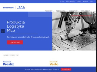 Streamsoft - producent systemów erp
