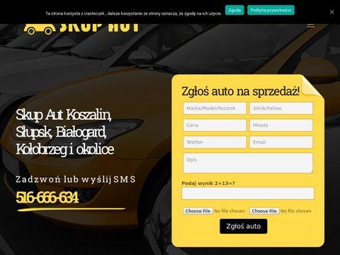 Skup aut Szczecinek, Koszalin, Bytów