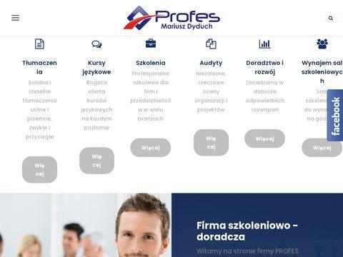 Profes.edu.pl - tłumaczenia Śląsk