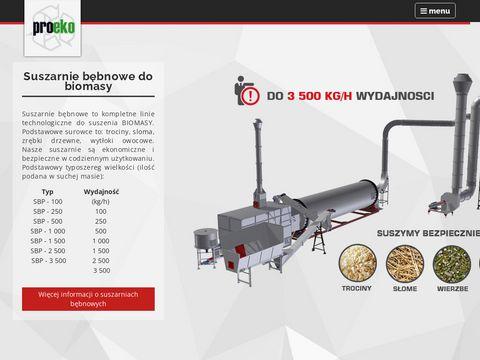 Proeko - suszarnie do biomasy