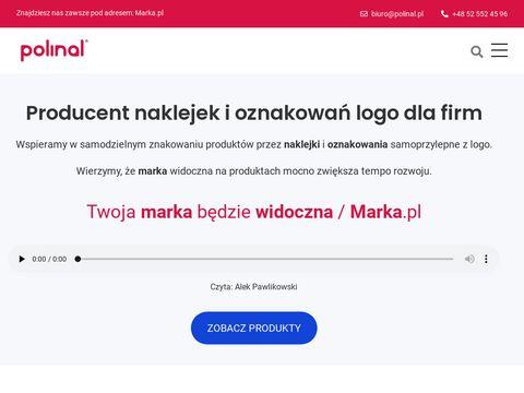 Polinal.pl - naklejki wypukłe 3d