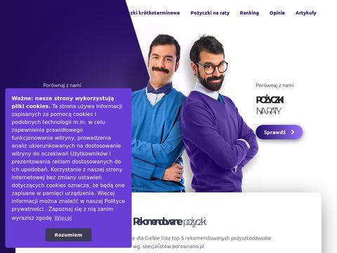 Porównywarka chwilówek - Porownano.pl