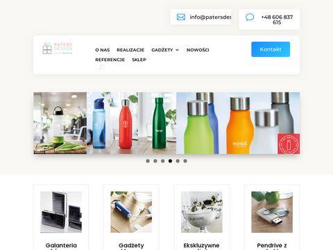 Paters Design - gadżety reklamowe z logo
