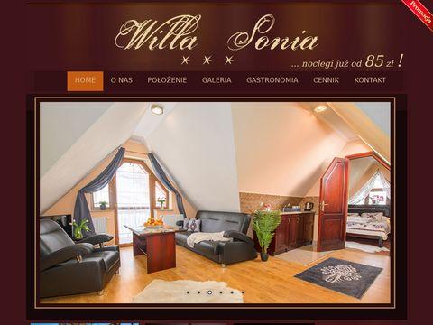 Apartamenty zakopane - willa-sonia.pl