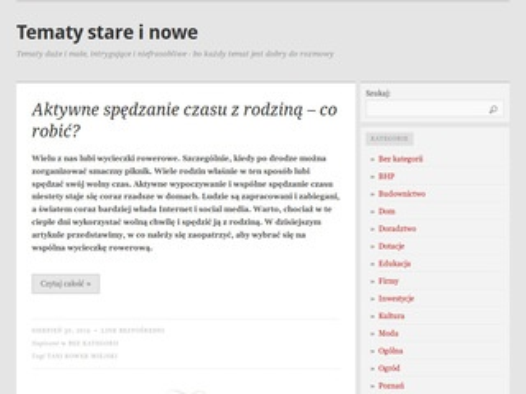 Temaciarnia - blog online firmowy
