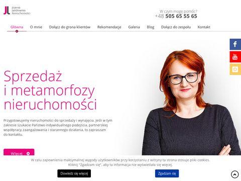 Joannajazdzewska.pl biuro nieruchomości