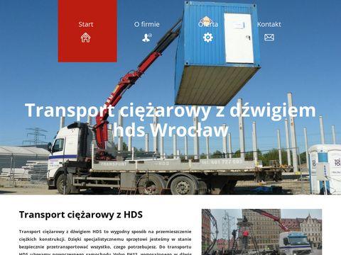 Transport ciężarowy Wrocław