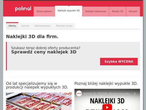 Nalepki3d.pl - naklejki wypukłe