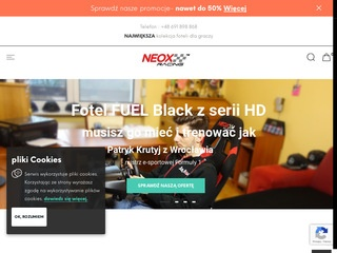 Fotel dla gracza - neox-racing.com
