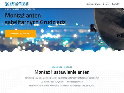 Montaż, ustawianie anten satelitarnych