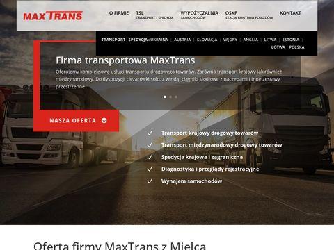 Transport Austria i usługi spedycyjne
