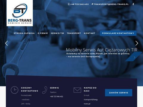 Serwis aut ciężarowych Berg-Trans