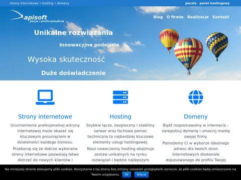 Tworzenie stron www - apisoft.pl
