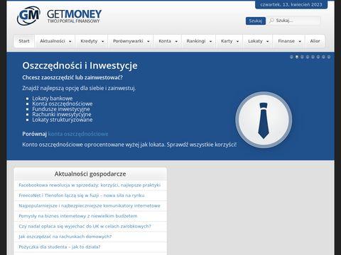 Get-Money.pl błyskawiczne pożyczki
