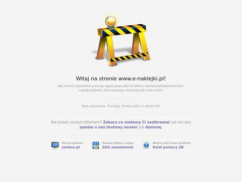 E-naklejki.pl - drukarnia naklejek
