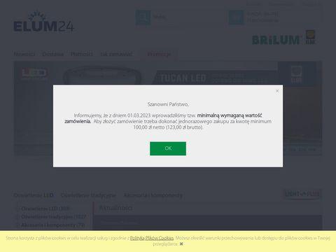 Elum24.pl - oświetlenie led