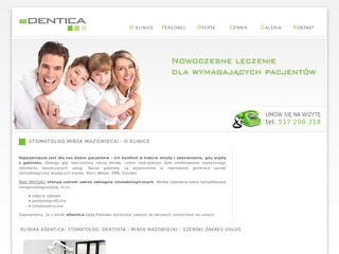 EDentica - stomatolog Mińsk Mazowiecki