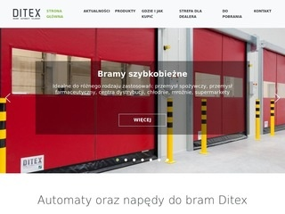 Napędy do bram Ditex