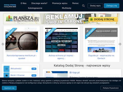 Dodaj-strone.com.pl tania reklama