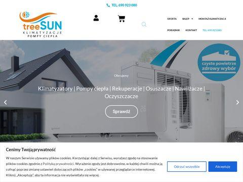 TreeSUN - klimatyzacja, montaż, serwis