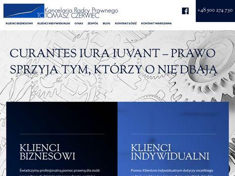 Tczerwiec.pl - obsługa prawna Łódź