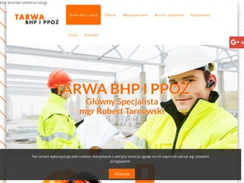 Tarwa - szkolenia i usługi bhp Wrocław