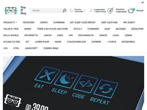 TheITGuy.pl koszulki dla informatyków