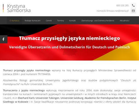 Tłumacz przysięgły języka niemieckiego