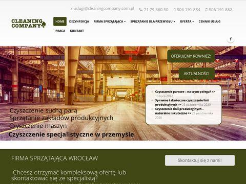 Sprzątanie Wrocław Cleaning Company