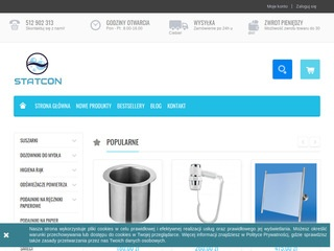 Wyposażenie toalet publicznych Statcon
