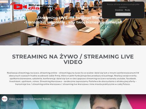 Streaming online Warszawa