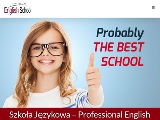 Professional English School