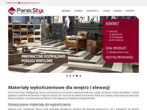 Panele podłogowe panelstyl.com.pl