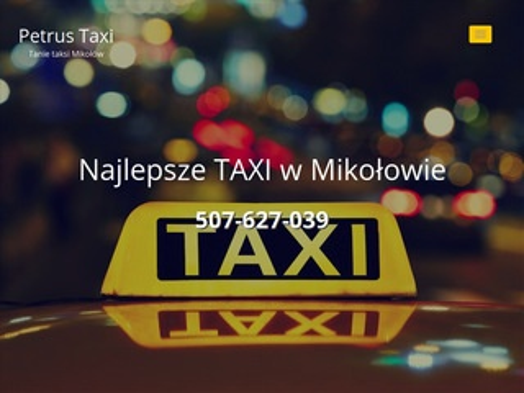 Petrus-taxi.pl w Mikołowie