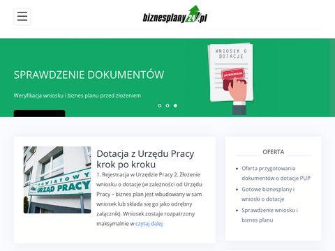 PlanujBiznes.pl - dotacje