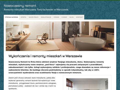 Malowanie mieszkania Warszawa