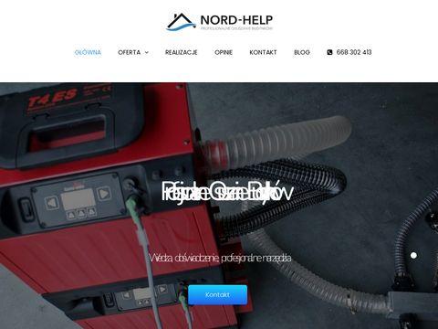 Osuszanie budynków Warszawa - Nord-help