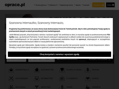 Ogłoszenia - oprace.pl