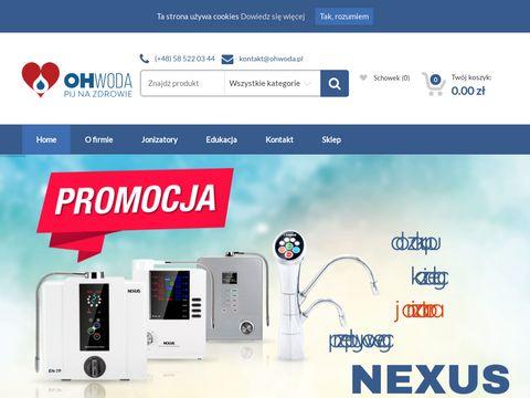 Ohwoda.pl - jonizatory wody