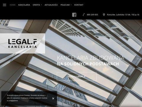 Radca prawny Rzeszów Kancelaria LegalF