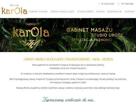 Gabinet masażu Szczecin