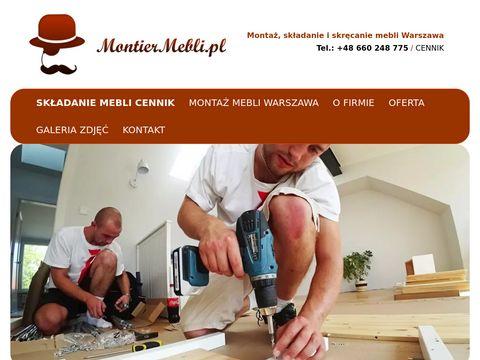 Montaż mebli Warszawa - montiermebli.pl