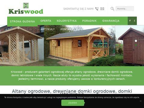 Domki letniskowe - kriswood.pl