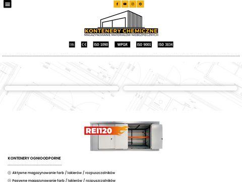Magazyny kontenery chemiczne - Ikapol